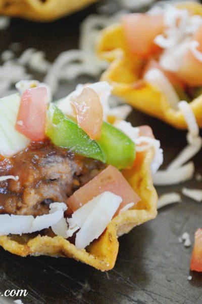 Manwich Taco Scoops Recipe