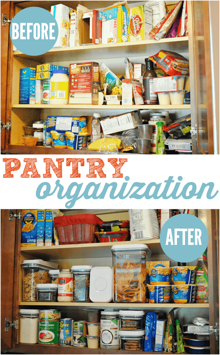 Pantry Organization With Oxo Pop Containers