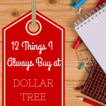 Dollar Tree Essentials: 12 Things I Always Buy