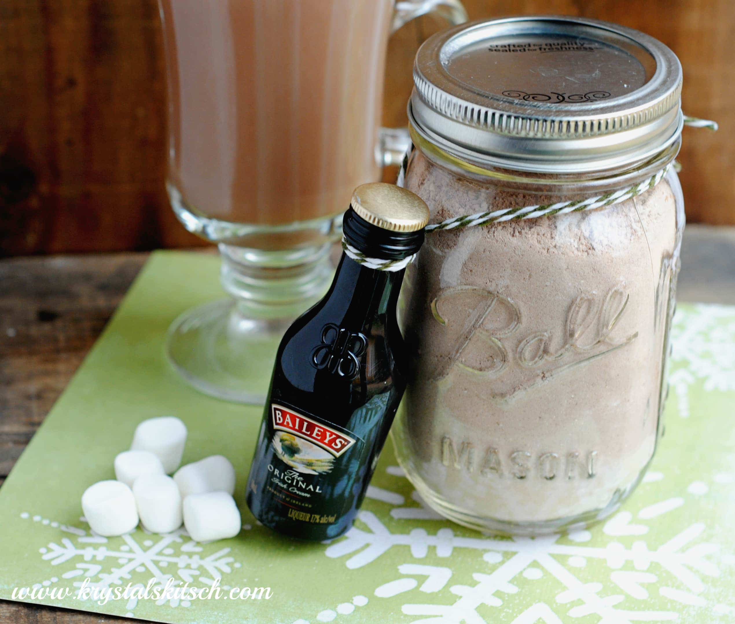 Hot Chocolate Recipe For Gifts In A Jar
