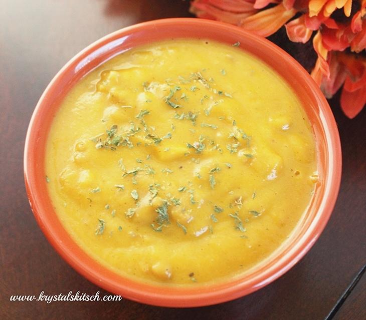 Sausage Butternut Squash Soup