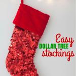 Easy Dollar Tree Stocking Ideas