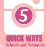 5 Quick Instagram Tips