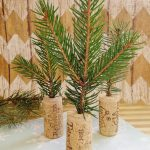 Wine Cork Mini Christmas Trees