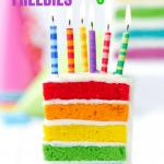 30 Freebies to Enjoy on Your Birthday