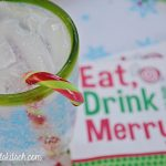 Candy Cane Cocktails With Blue Chair Bay Rum