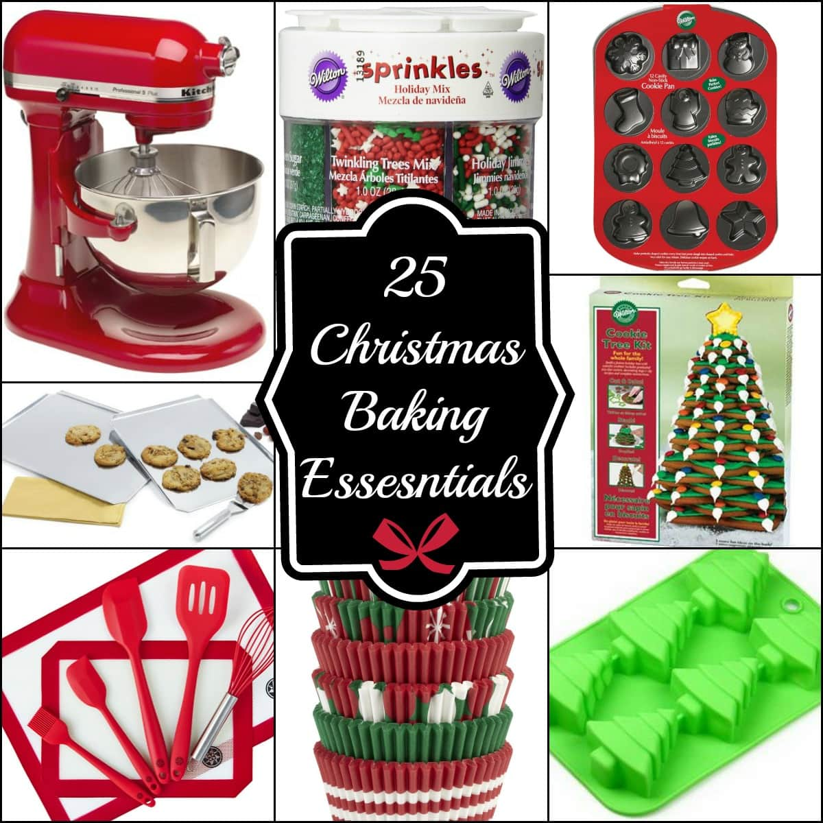 Baked Christmas Gifts: 25 Christmas Baking Essentials And Baking Gift Ideas
