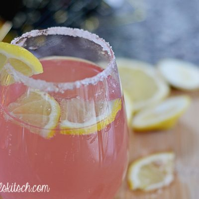 Pink Moscato Punch