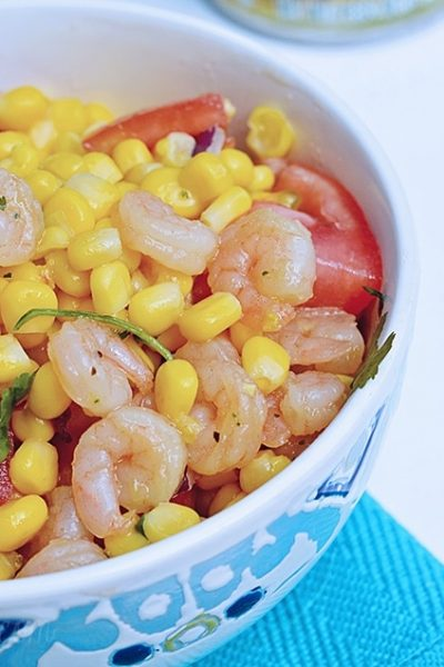 Publix Healthy Recipes: Cilantro Shrimp Bowl With Green Giant Vegetables