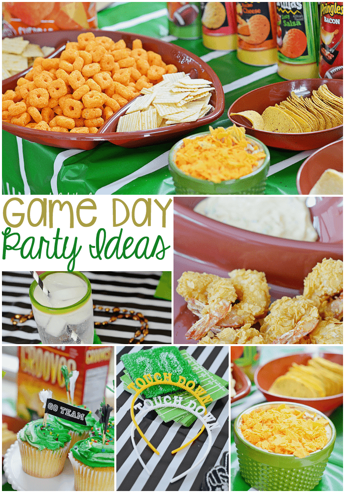 Game Day Party Ideas