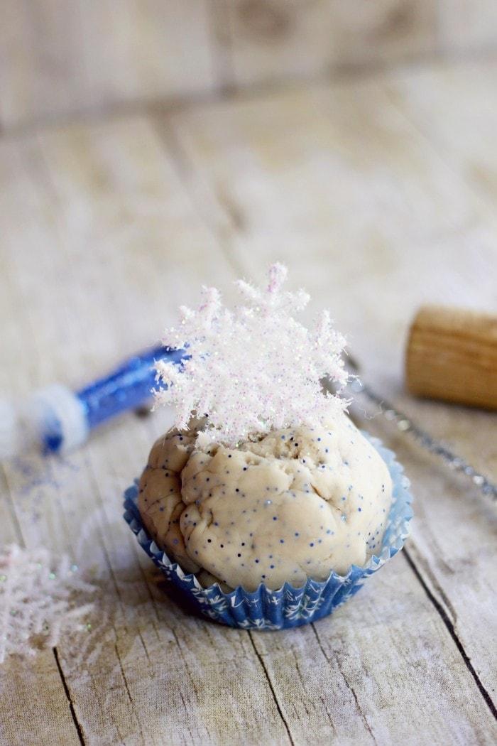Frozen Winter Play Dough