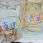 Create Savings Jars + Track Expenses With a Free Budget Tips Printable