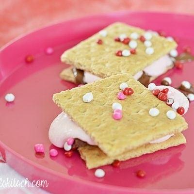 Romantic Desserts: Strawberry S'Mores