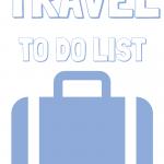 Theme Park Travel Checklist