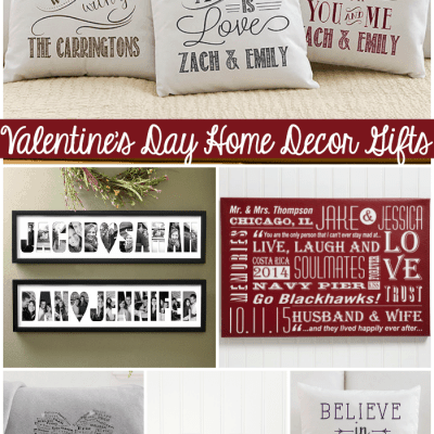 Valentine's Day Home Decor Gifts