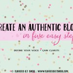 Create an Authentic Blog: Free Blog Workbook