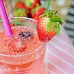 Berry Cherry Cheers: Strawberry Rum Cocktail
