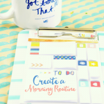 Be Productive Every Day: Morning Routine Printable