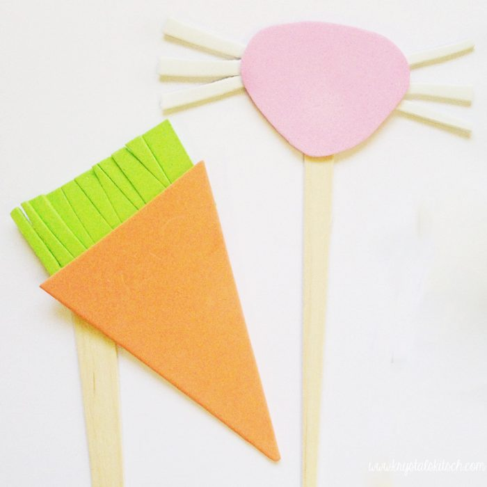 Easter Photo Props for Kids