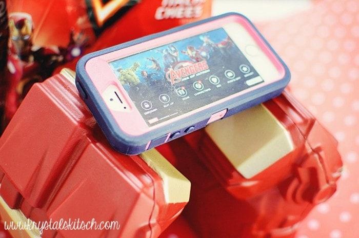 Avengers iphone app