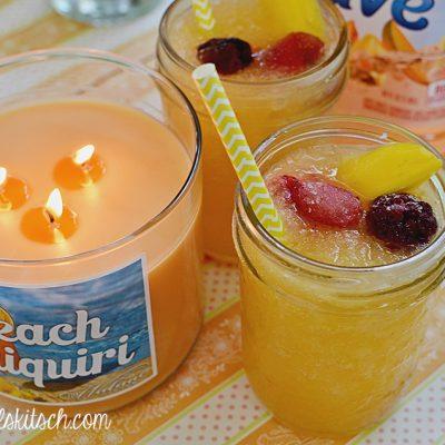 Peach Daiquiri Candle