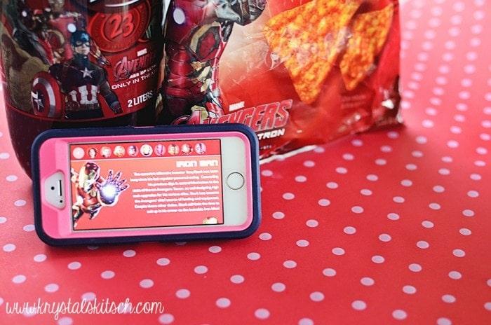 Avengers app for phone