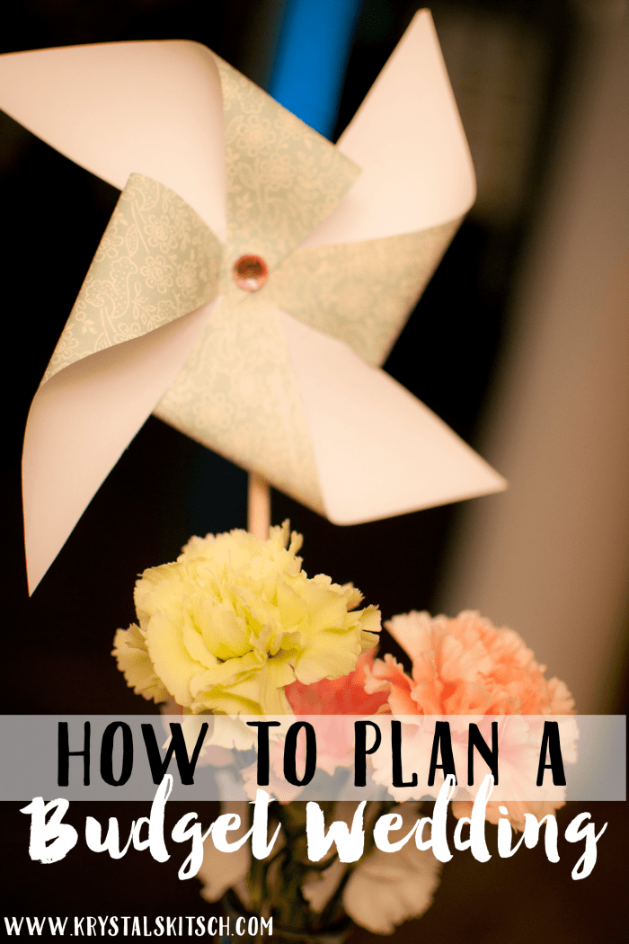 How To Plan A Wedding On A Budget