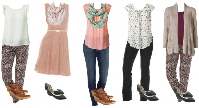 Kohls Mix and Match