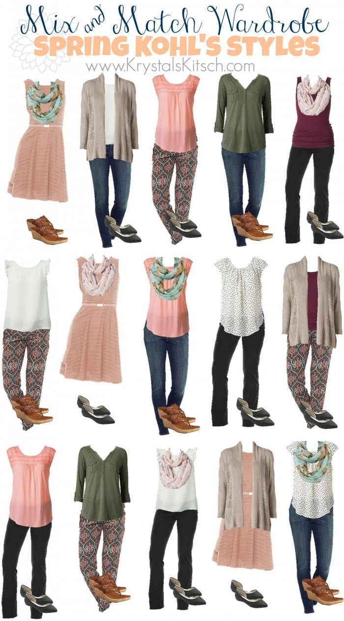 Spring And Summer Fashion Ideas At Kohls
