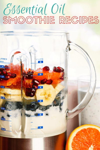Healthy Smoothies With Essential Oils