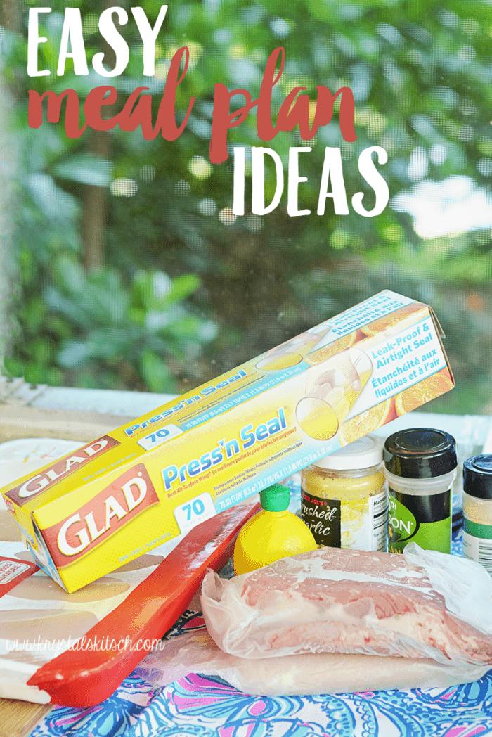 Easy Meal Plan Ideas