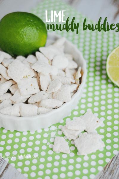 Lime Muddy Buddies Recipe