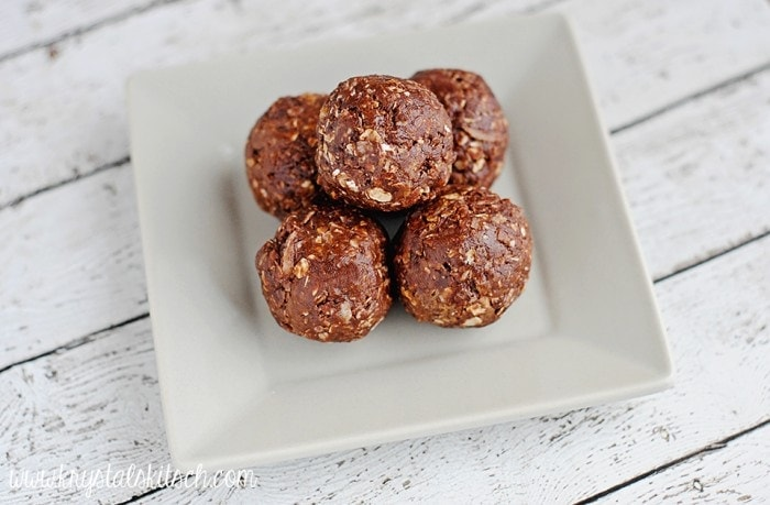No Bake Chocolate Bites Recipe