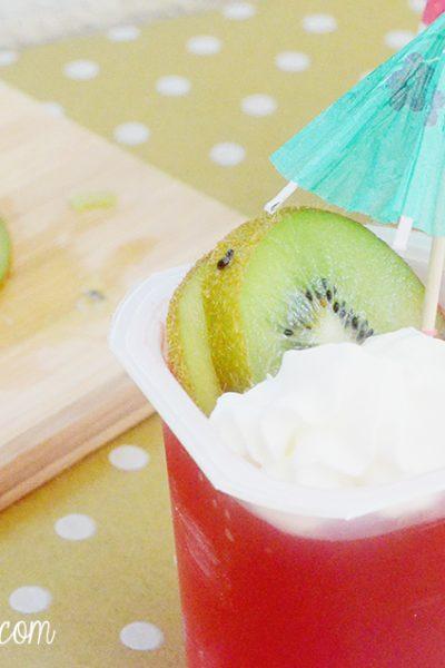 Strwaberry Kiwi Dessert