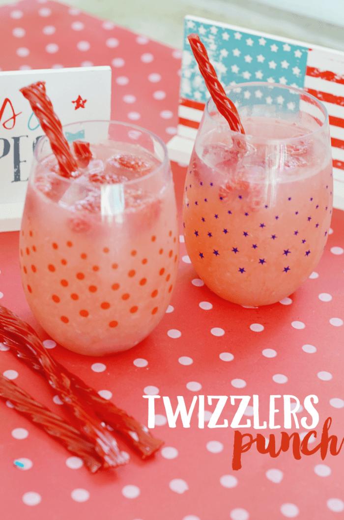 July 4th Twizzlers Treats