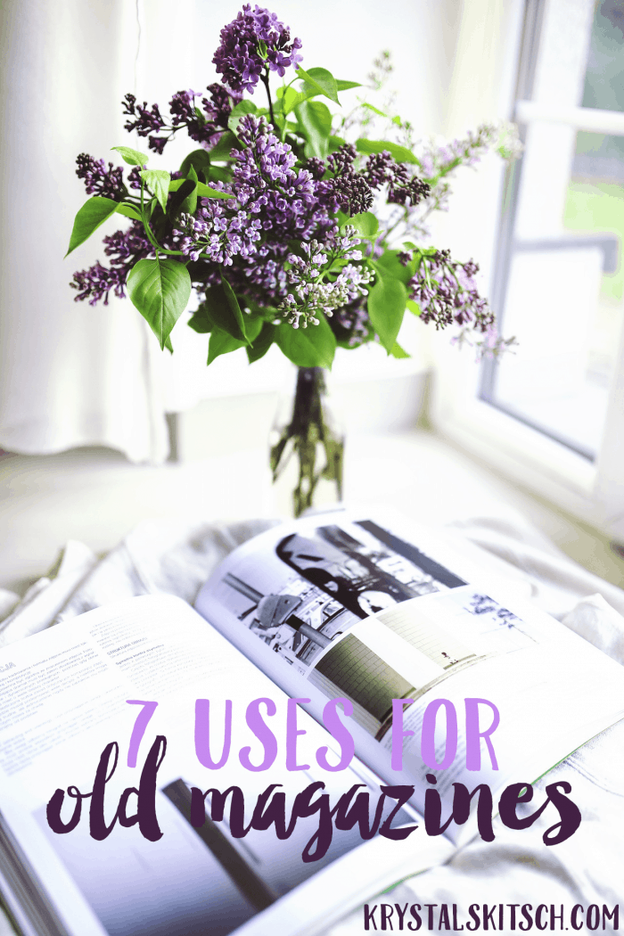 7 Uses for Old Magazines