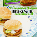 Cucumber Mint Chickpea Burger Recipe