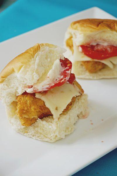 Simple Chicken Sliders