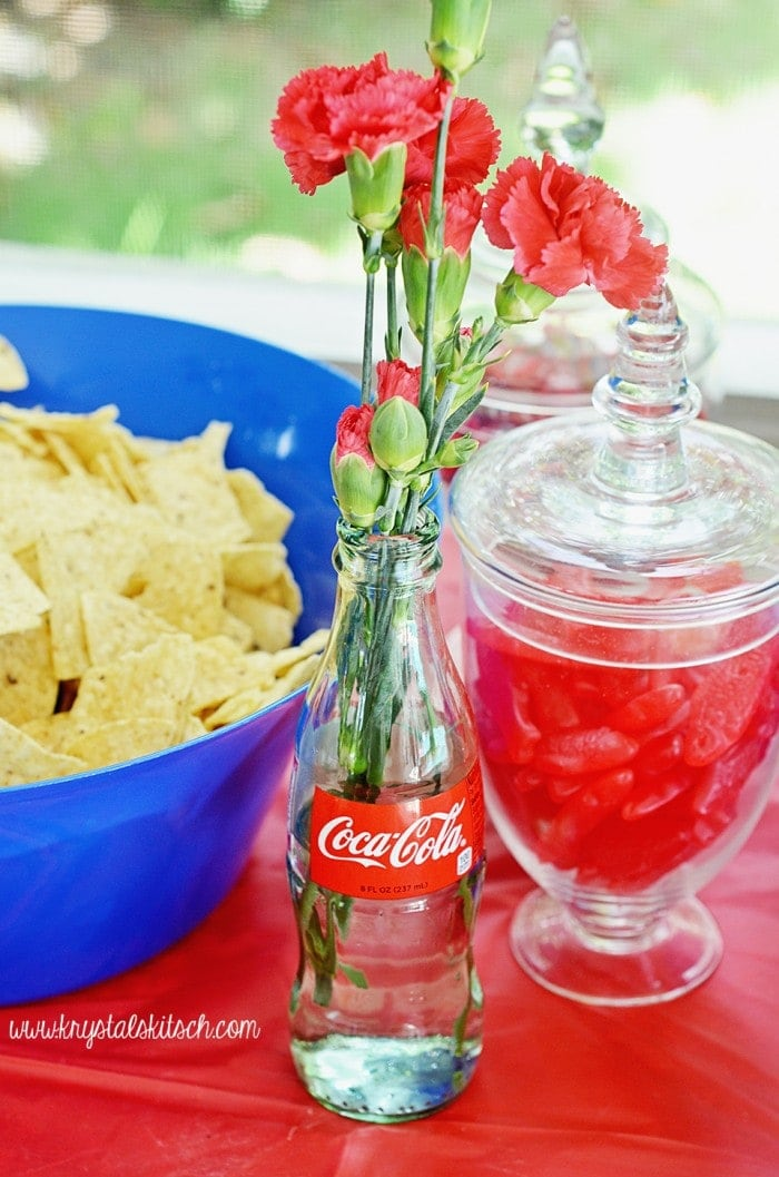 Coke Party Table