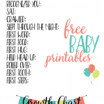 Baby Milestones Printables