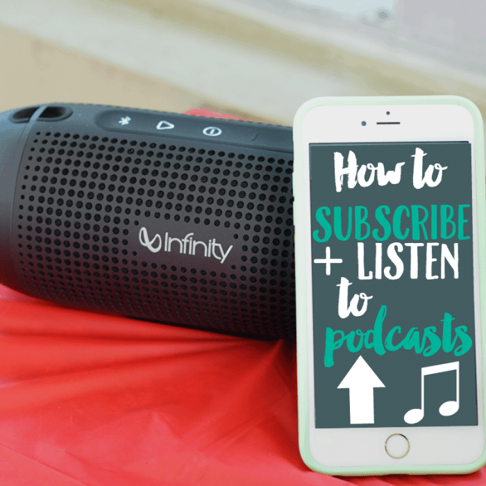 How to Subscribe to Podcasts