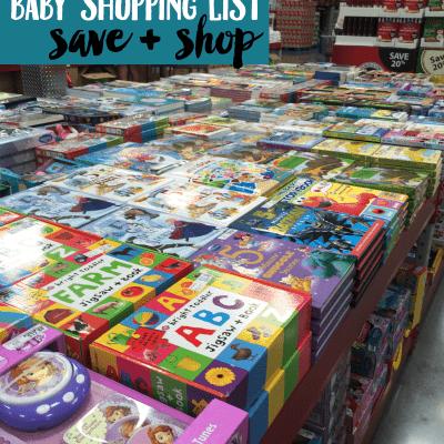 Sam's Club Baby Shopping List