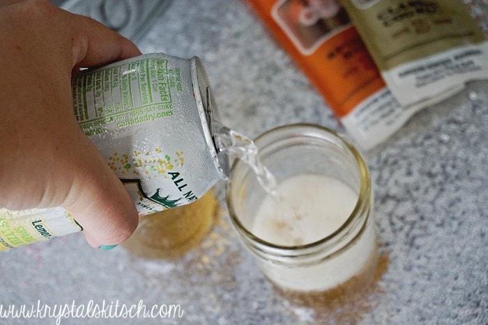 Whiskey Soda Mixer