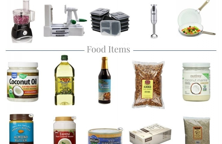 Whole 30 Grocery List