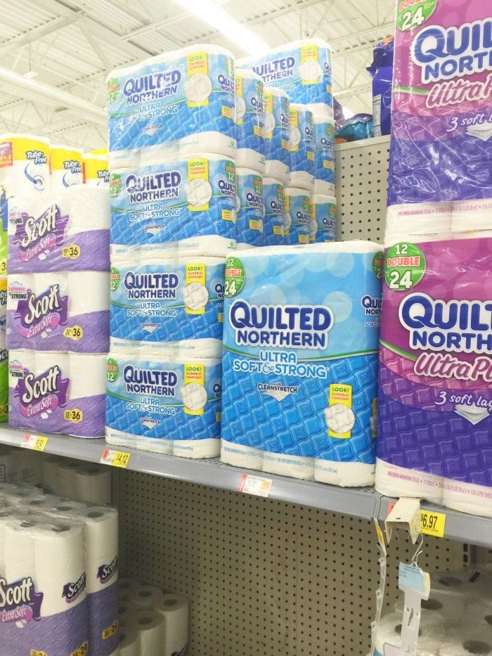 Quilted Northern at Walmart