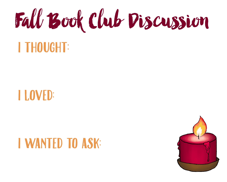 Fall Book Club Discussion