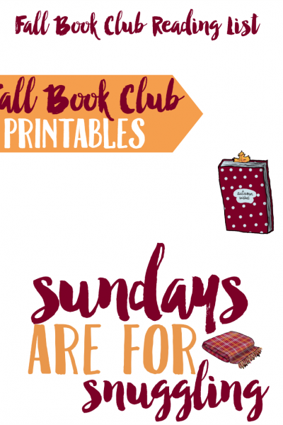Books and Brews: Fall Book Club Printables and Iced Coffee With OREO Thins