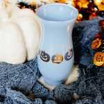 Easy Halloween Holiday Craft: Pumpkin Vase