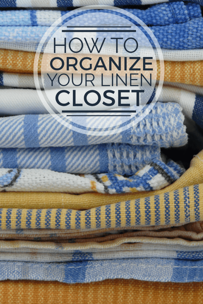 how to organize your linen closet. Black Bedroom Furniture Sets. Home Design Ideas
