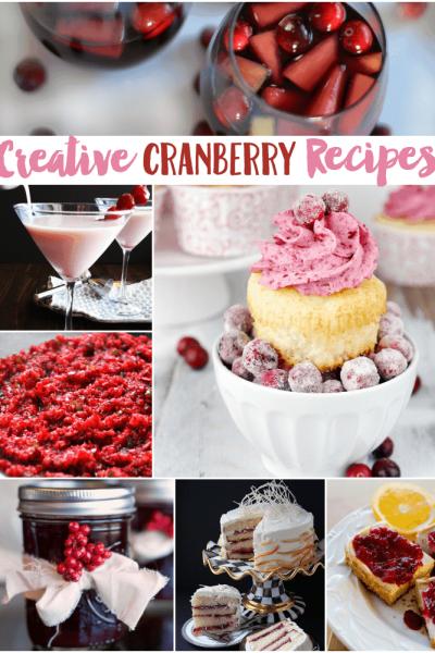 50+ Creative Cranberry Recipes